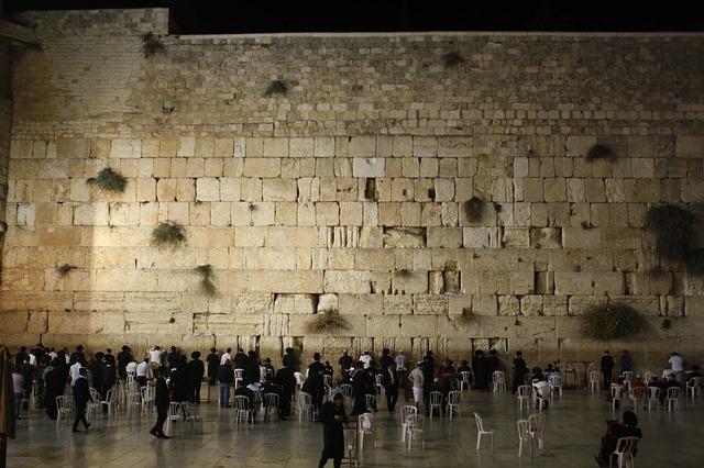 Jerusalem Wall Stone Old Ancient Israel Prayer